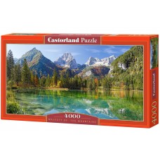 Castorland 4000 - The majesty of the mountains
