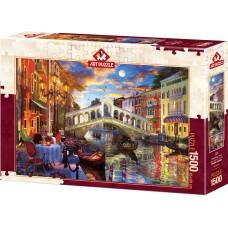 Art Puzzle 1500 - Rialto Bridge, Venice