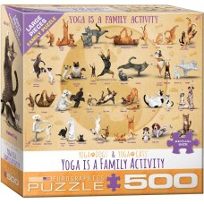 Eurographics 500 XL - Yoga is a family activity