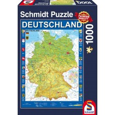 Schmidt 1000 - Map of Germany