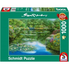 Schmidt 1000 - Lake with water lilies, Sam Park
