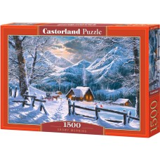 Castorland 1500 - Snowy morning