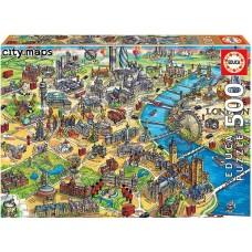 Educa 500 - Map of London
