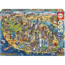 Educa 500 - Map of New York, Maria Rabinki