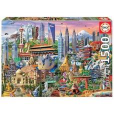 Educa 1500 - Natural landmarks of Asia
