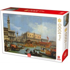 Deico Games 1000 - The return of Bucentaur to the pier from the Palazzo Palacio, Canaletto