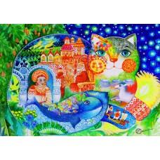 Bluebird 1500 - Russian fairy tale, Oksana Zaika