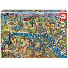 Educa 500 - Map of Paris