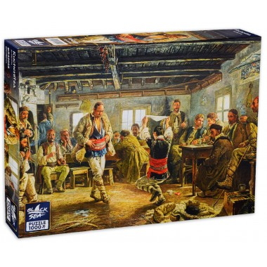Black Sea Puzzles 1000 - Rachenitsa, Ivan Markvichka