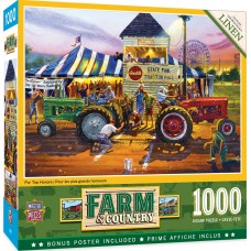 Master Pieces 1000 - Fun games in the countryside