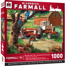 Master Pieces 1000 - A tractor for every boy