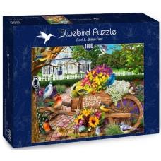 Bluebird 1000 - Flowers and birds
