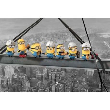 Despicable Me (Minions Lunch On A Skyscraper)