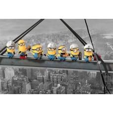 Despicable Me (Minions Lunch On A Skyscraper)