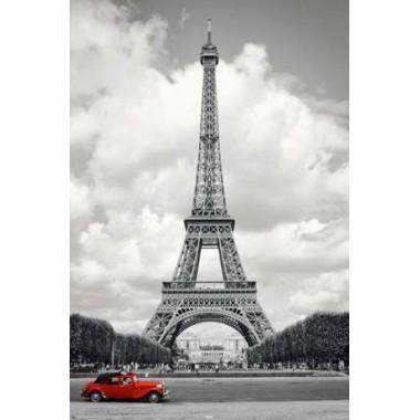 PARIS - red car