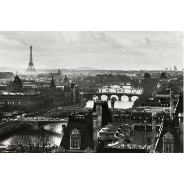Paris View (B&W)