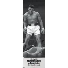 Muhammad Ali (V Liston Landscape) - door poster