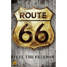 ROUTE 66 - sign -